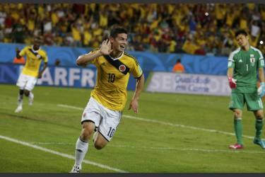 Colombia goleó 4-1 a Japón y clasificó a octavos de final