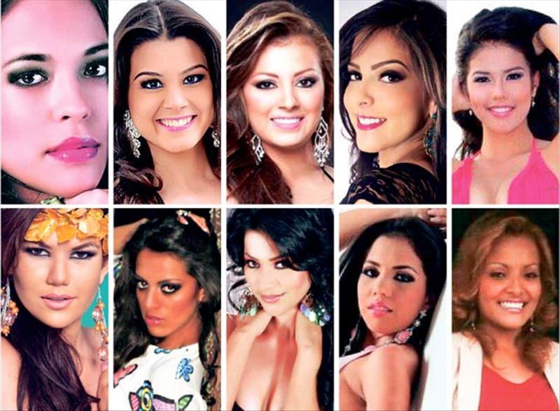 Llegan candidatas a Reina Nacional del Banano.