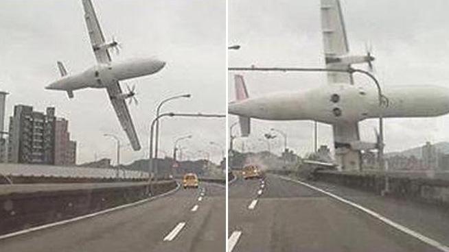 Al menos 23 muertos por avión de TransAsia Airways que cae a río en Taiwán.