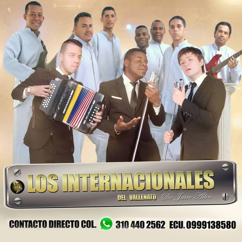 Jairo Allin  y los Internacionales del Vallenato, en El Guabo